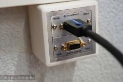 HDMI VGA Wandanschluss