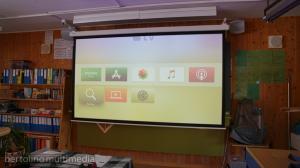 beamer leinwand schule turnhalle thun multimedia-21