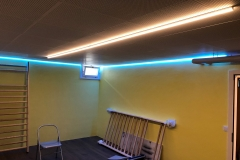LED Profile weiss RGB Alu nach Mass