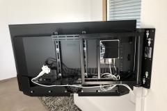 TV Wandhalterung 180° elektrisch inkl. Swisscom TV
