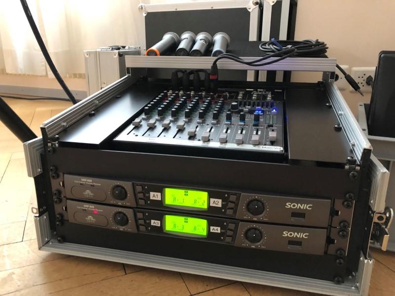 Audio Anlage Vermietung_Mikrofon_Beschallung_ Komplett Set_ Thun